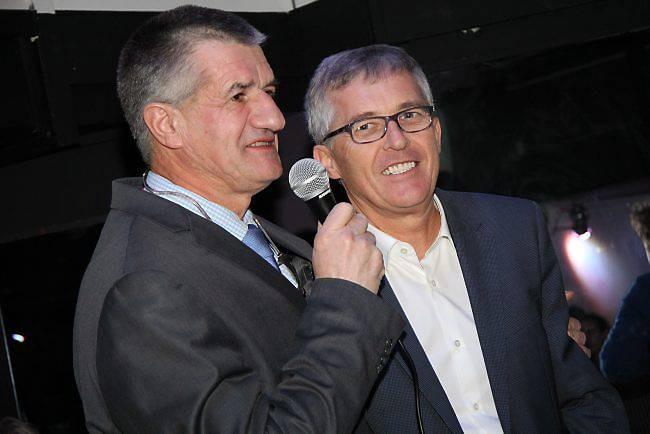 Jean Lassalle et Philippe Lailler (Ouest-France)