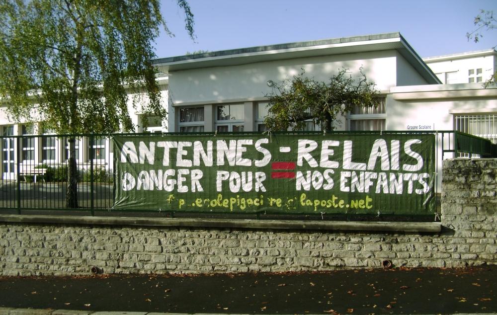 Antennes relais ecole pigaciere à Caen