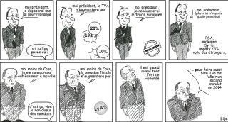 Philippe Duron et François Hollande