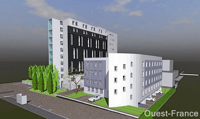 Foyer Jeunes Travailleurs (Cité 2000), le Pôle hébergement