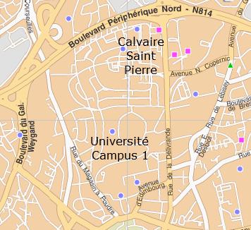 Antennes relais Pierre Heuzé - Lebisey